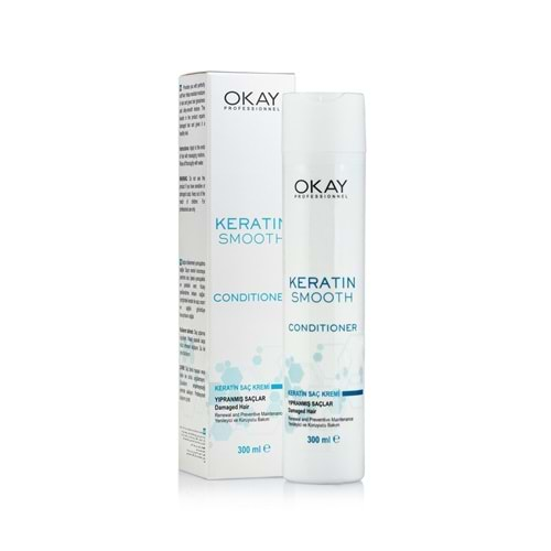 OKAY PROF. KERATIN SMOOTH SAÇ KREMİ 300 ML